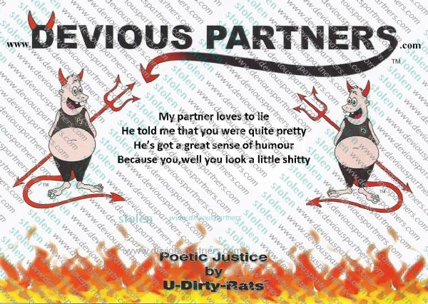 devious partners women,humour
